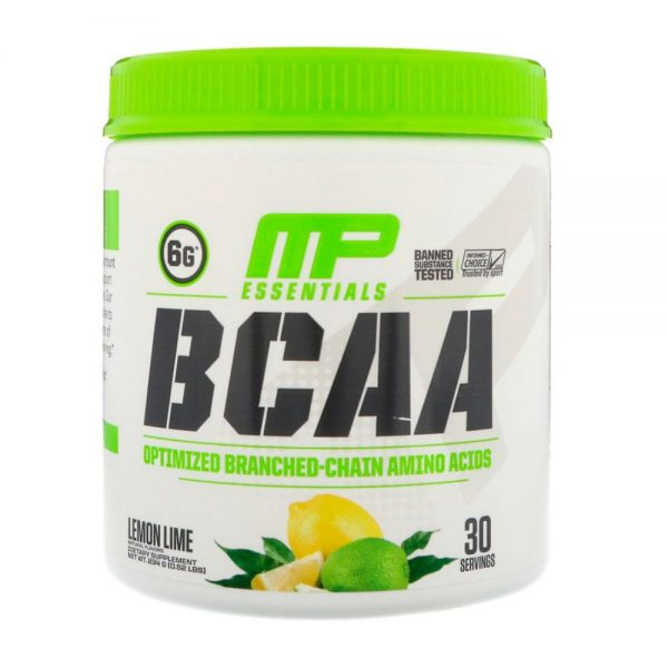 MusclePharm Essentials BCAA´s Lima-limón Lima