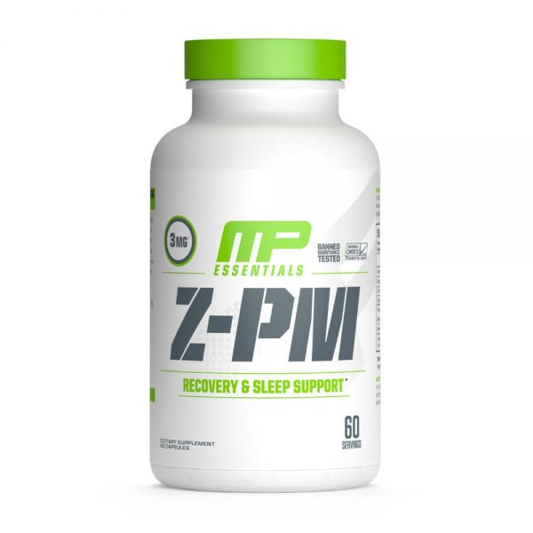 MusclePharm Escenciales Z-PM, 60 Caps