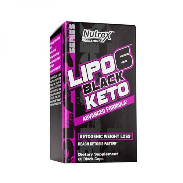 Nutrex Lipo 6 Keto 60 Capsulas
