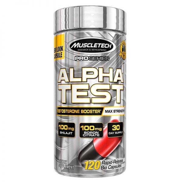 Muscletech Alpha Test 120 Caps