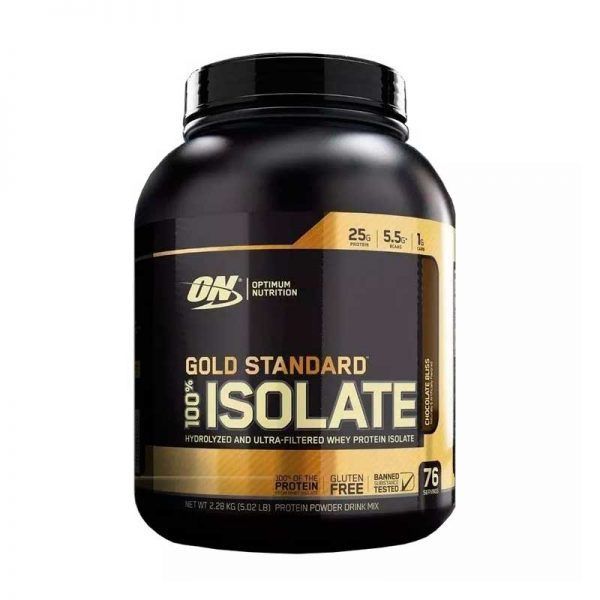 Optimum Nutrition Gold Standard Isolate 5 Lbs Chocolate