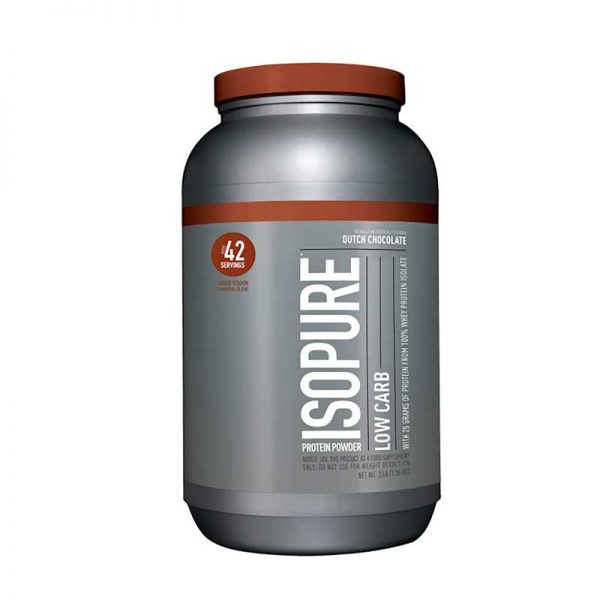 Natrues Best Isopure Low Carb Chocolate 3 Lbs Chocolate